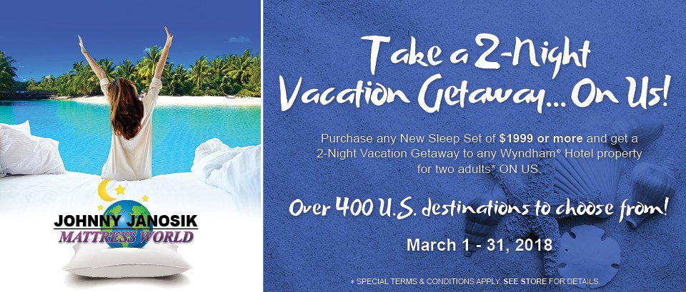 take a 2-Night Vacation Getaway on us!