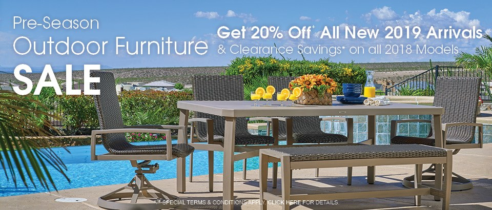 PreSeason Outdoor Furniture Sale