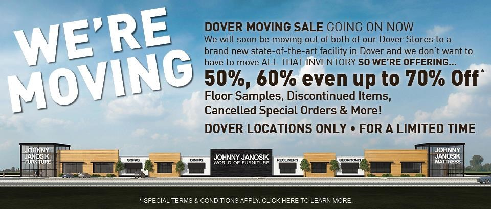 Dover Moving Sale