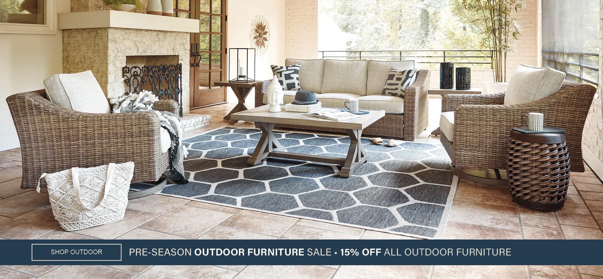 Pre-Season Outdoor Furniture Sale