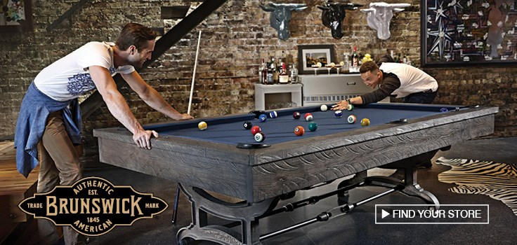 Shop Billiards and Games at Johnny Janosik