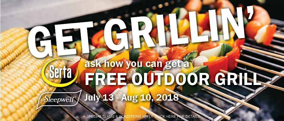 Get Grillin' with Serta