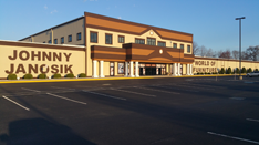 Johnny Janosik's large floor is home to a huge selection of furniure and bedding.