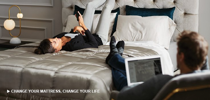 Get a better night's sleep with the right mattress, click here to learn more