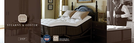 Stearns and Fosters Mattresses, click to shop