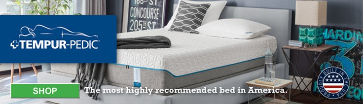Click to shop Tempur-Pedic Mattresses