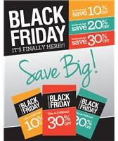 Black Friday it's finally here! SAVE BIG!