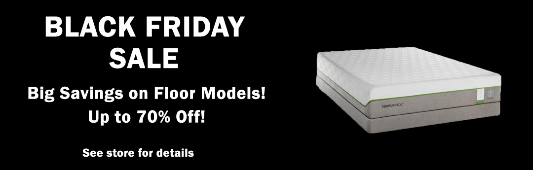 Black Friday Sale. 0% interest for up to 60 months. See store for details