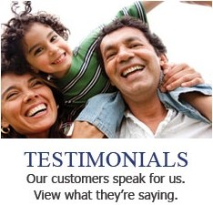 Testimonials - Our customers speak for us. View what they're saying.
