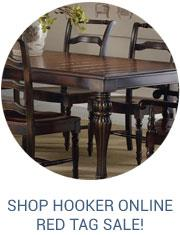 Hooker red tag sale at Fashion Furniture