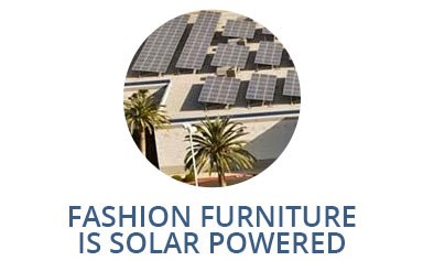 Fashion Furniture is Solar Powered