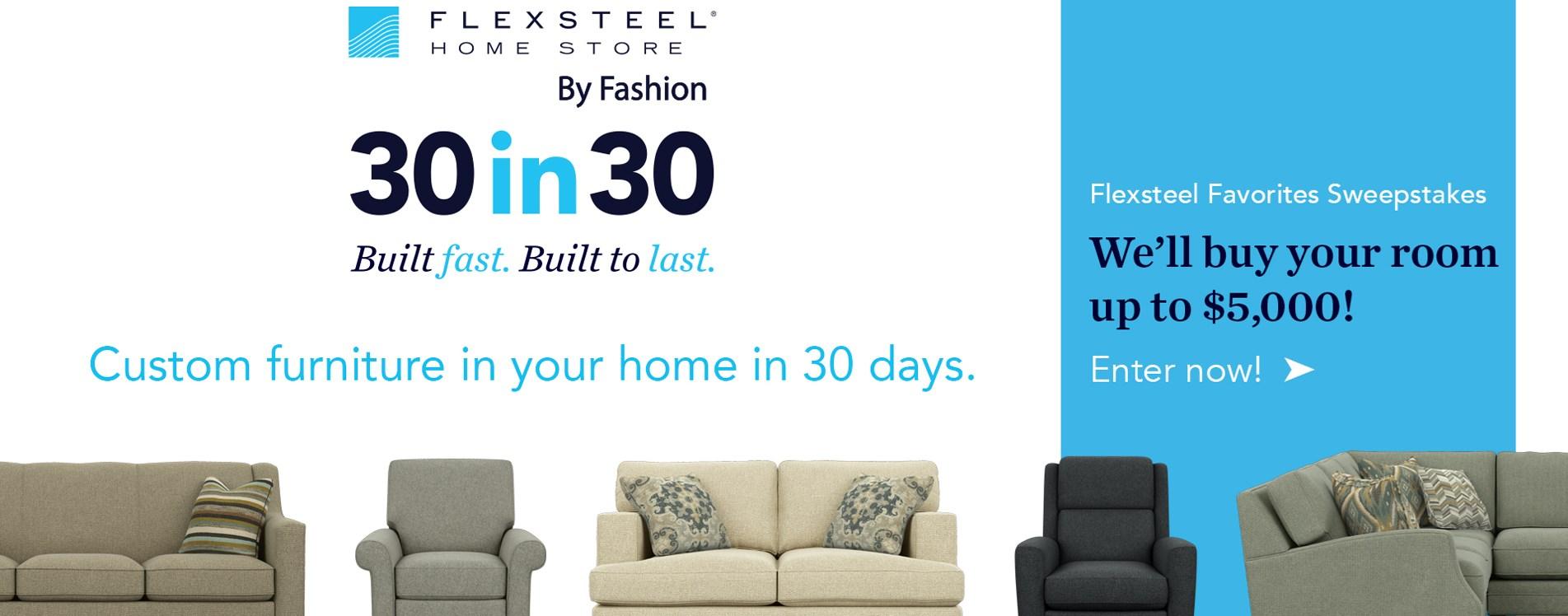 Flexsteel promotion