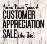 Furniture & ApplianceMart's Customer Appreciation Sale