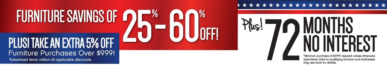 Furniture & ApplianceMart - Memorial Day Sale
