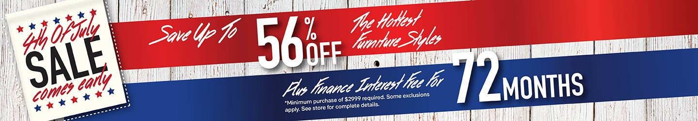 Furniture & ApplianceMart - 4th of July Sale