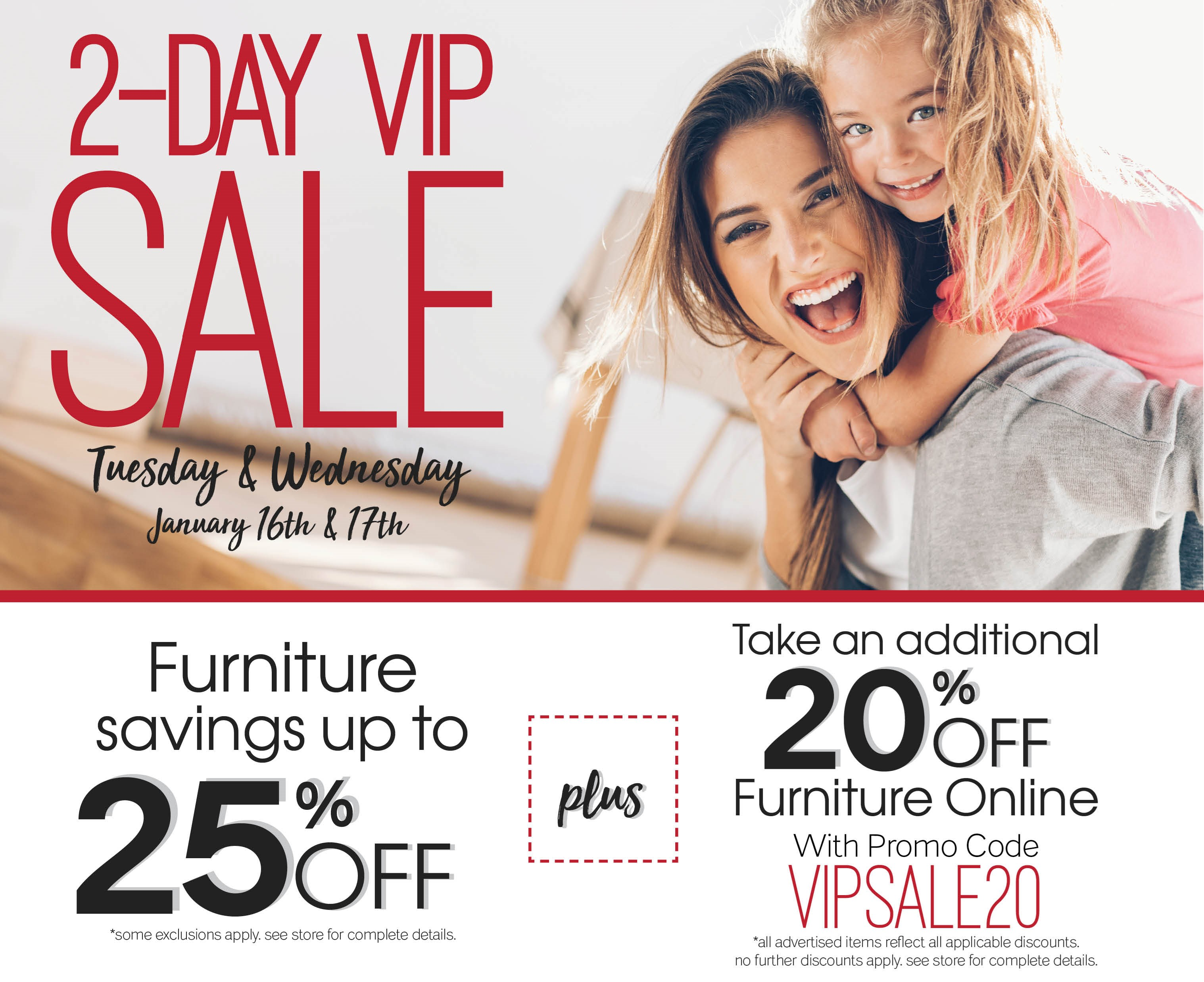 Furniture & ApplianceMart VIP Sale