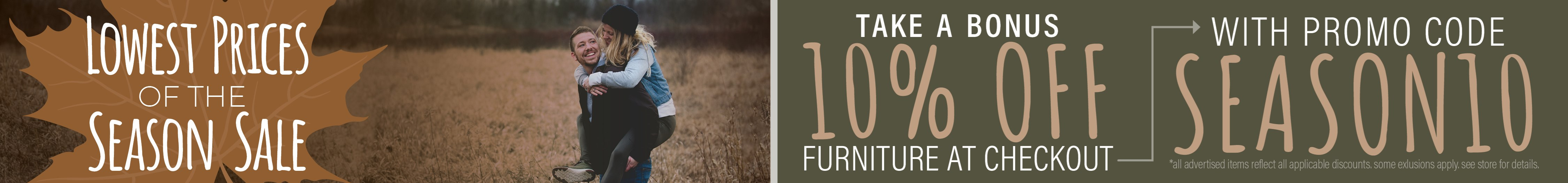 Furniture & ApplianceMart Lowest Price of the Season Sale