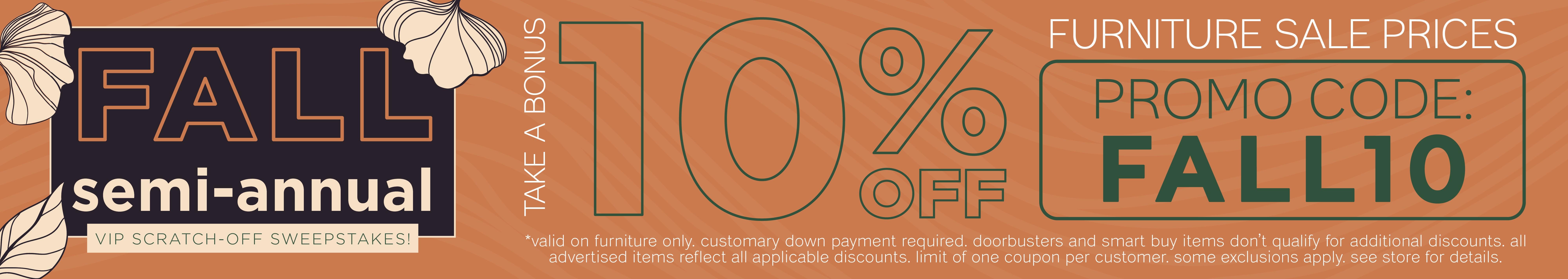 Furnitur & ApplianceMart Fall Scratch Off Sale