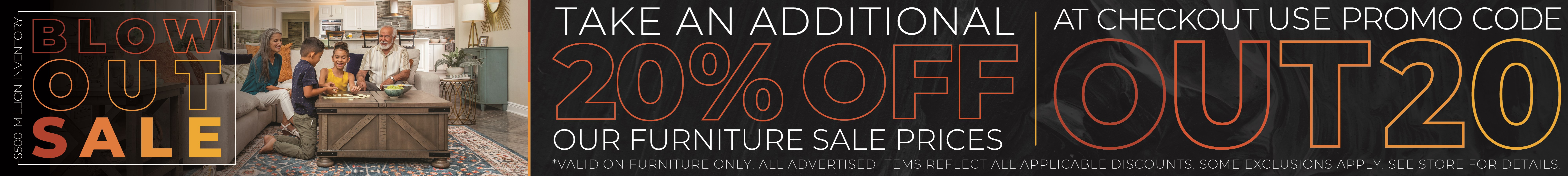 Furniture & ApplianceMart $500M Blowout Sale