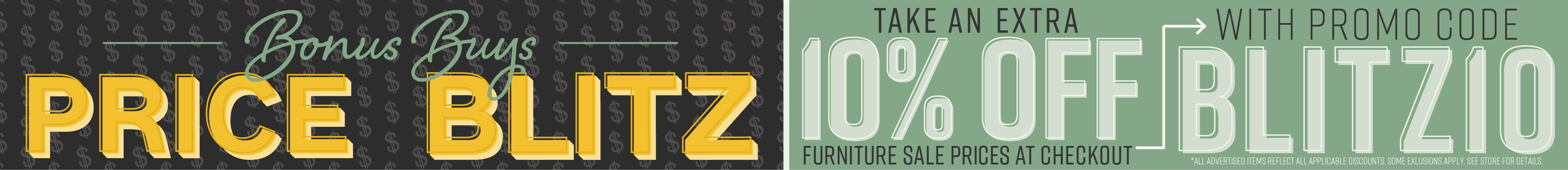 Furniture & ApplianceMart Bonus Buys Price Blitz