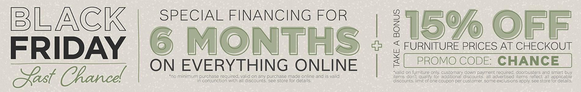 Furnitur & ApplianceMart Black Friday Last Chance Sale