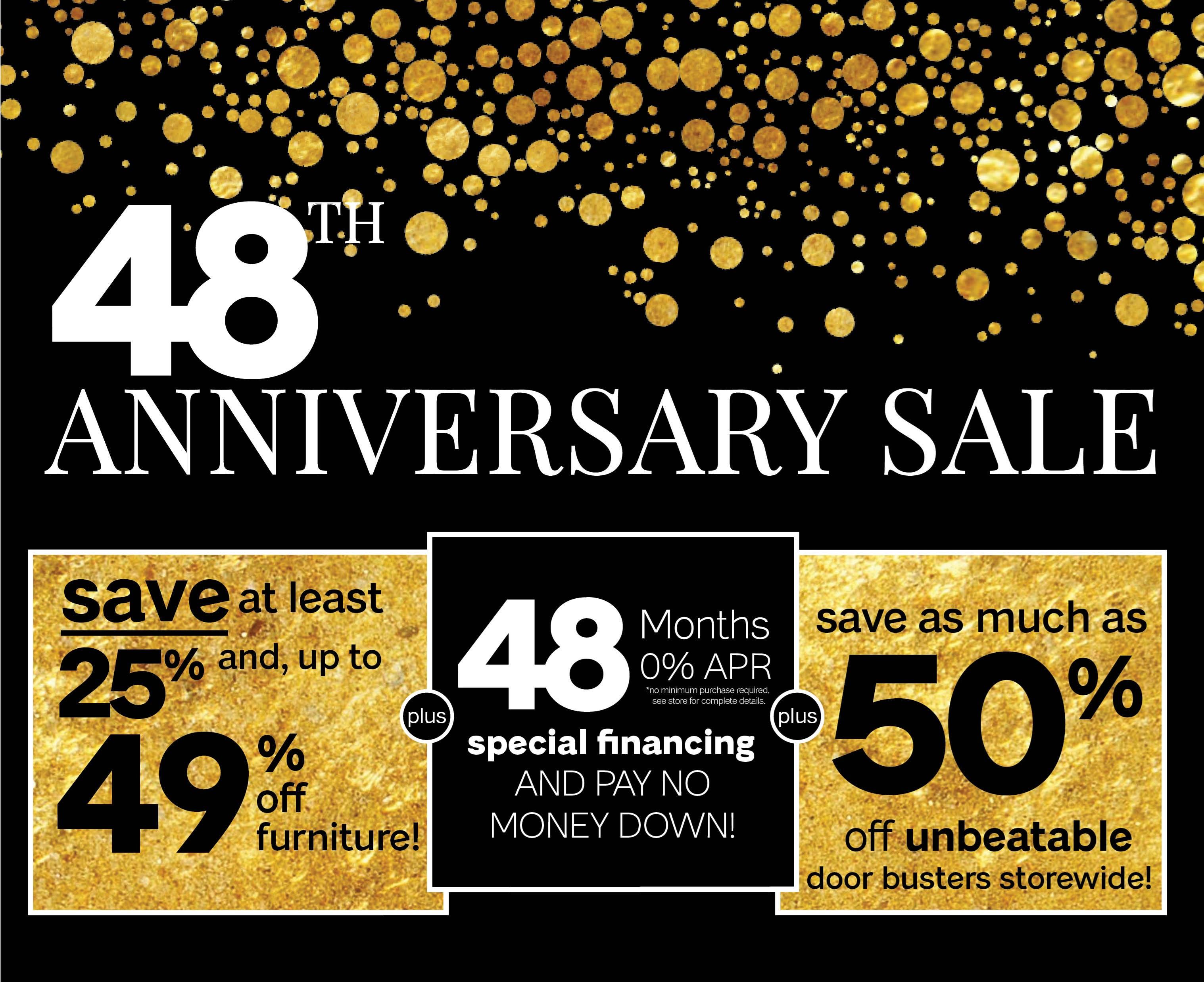 Furniture & ApplianceMart 48th Anniversary Sale