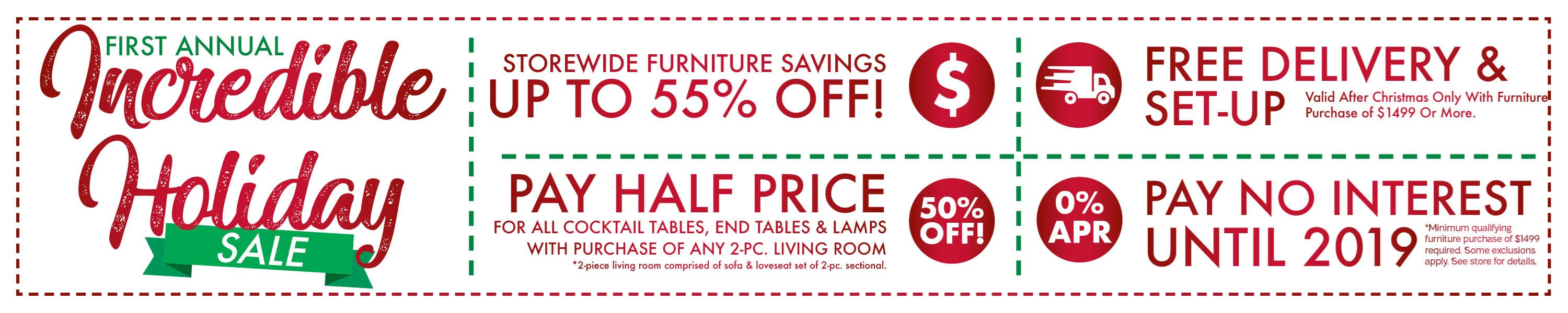 Furniture & ApplianceMart Holiday Sale