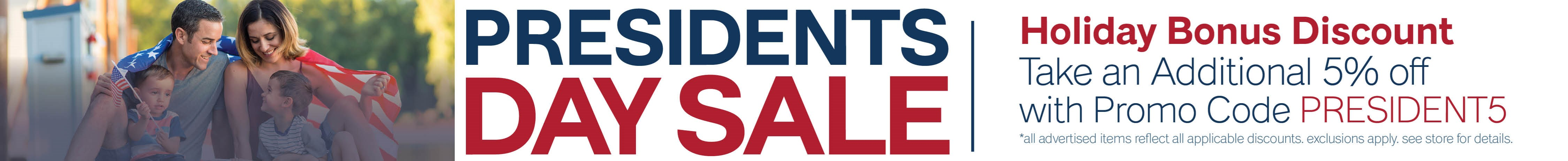 Furniture & ApplianceMart Presidents Day Weekend