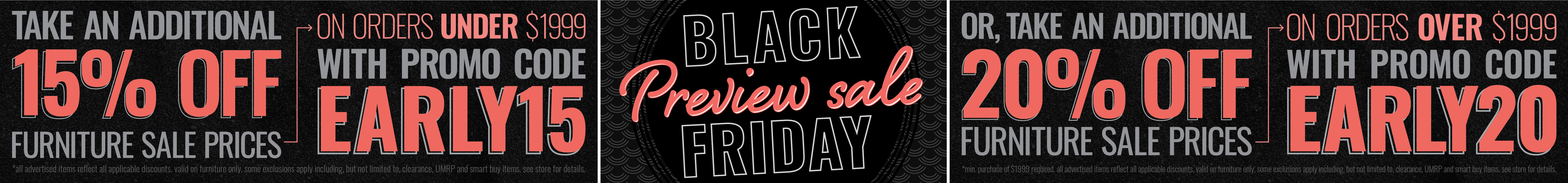 Furniture & ApplianceMart Black Friday Private Preview