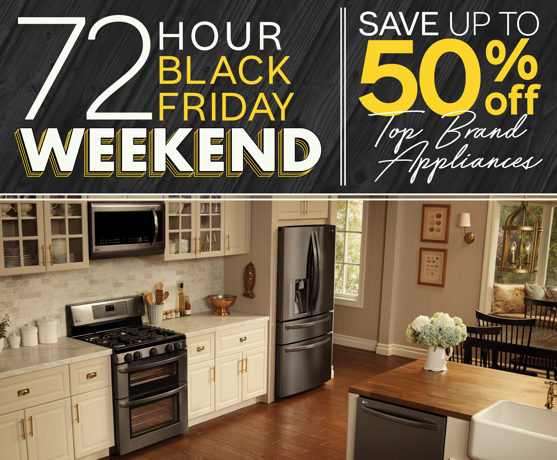 Furniture appliancemart black friday 72 hour weekend sale
