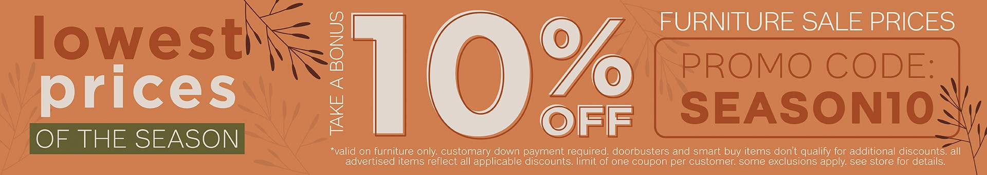 Furnitur & ApplianceMart Lowest Prices of the Season