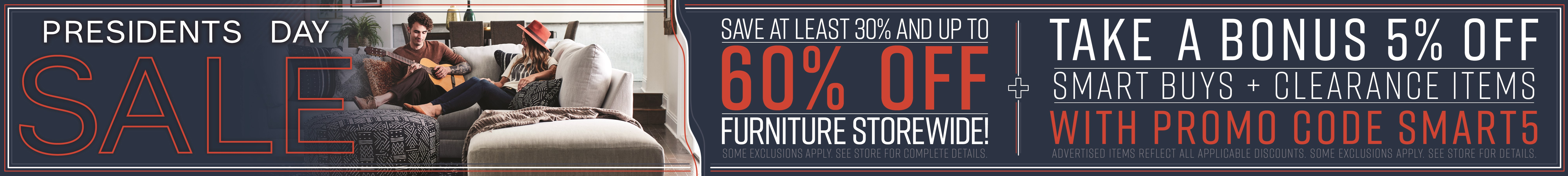 Furniture & ApplianceMart Presidents Day Sale