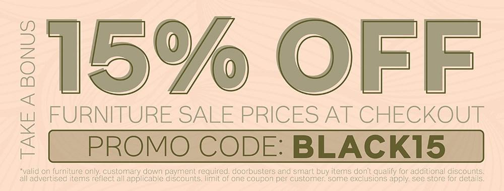 Furniture & ApplianceMart Black November
