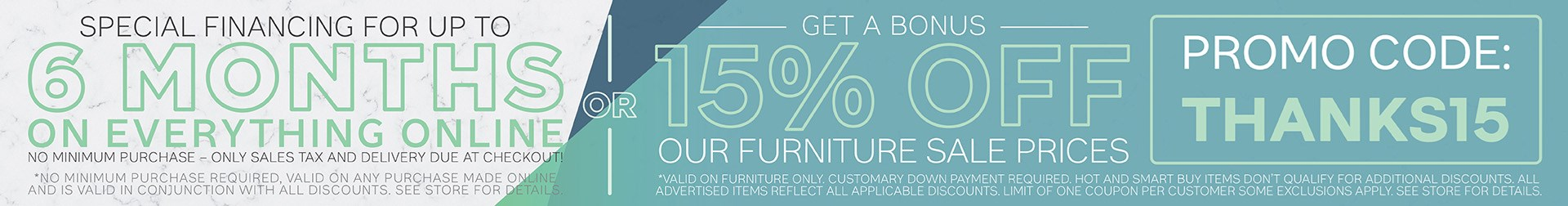 Furniture & ApplianceMart Customer Appreciation Sale