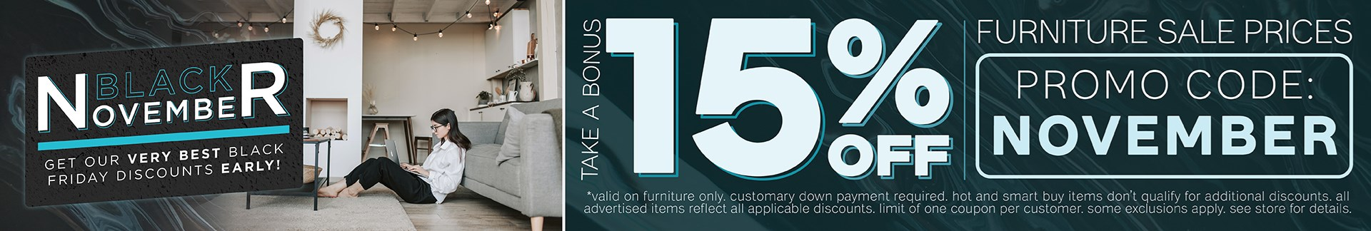 Furniture & ApplianceMart Black November Sale
