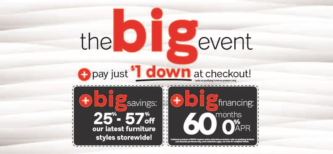 Furniture & ApplianceMart BIG Event