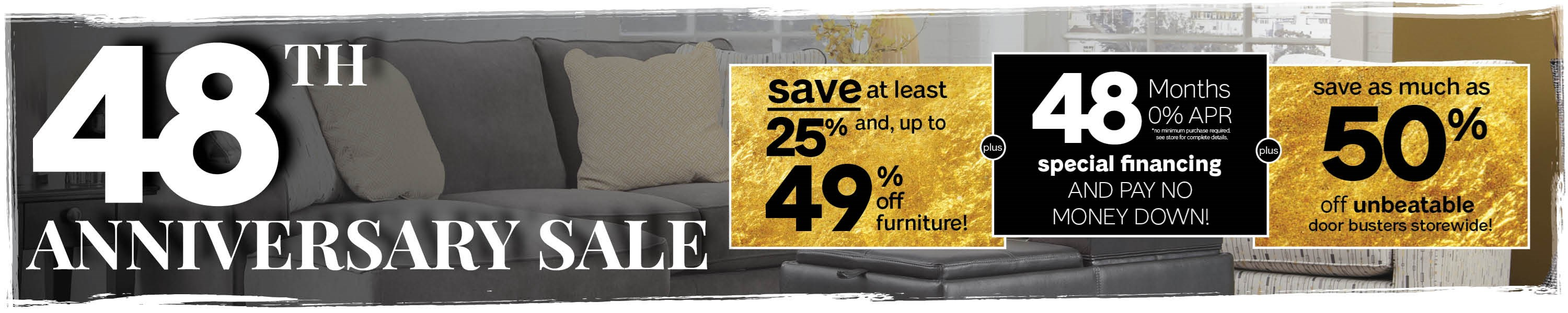 Furniture & ApplianceMart 48th Anniversary Sale