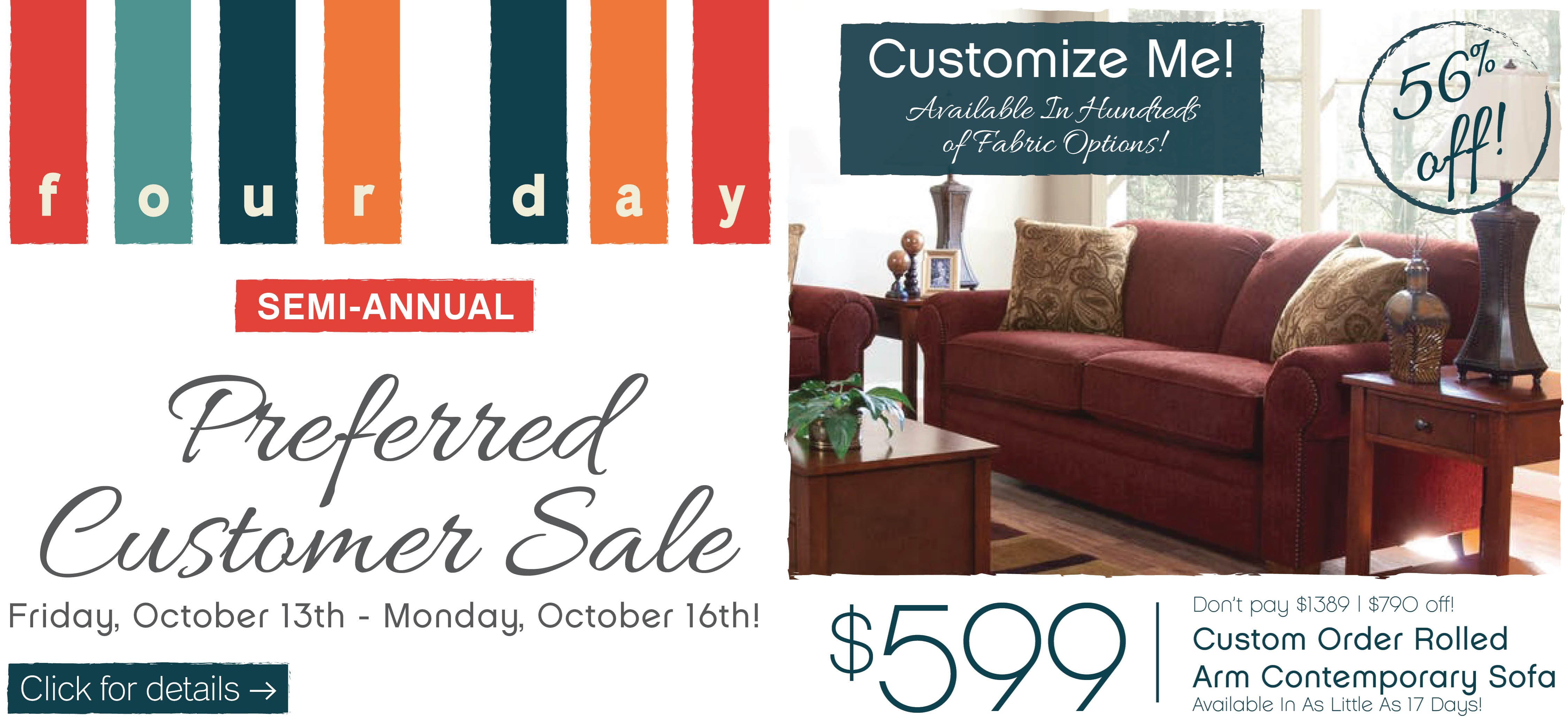 Warm Up With Fall Style Furniture ApplianceMart Four Day