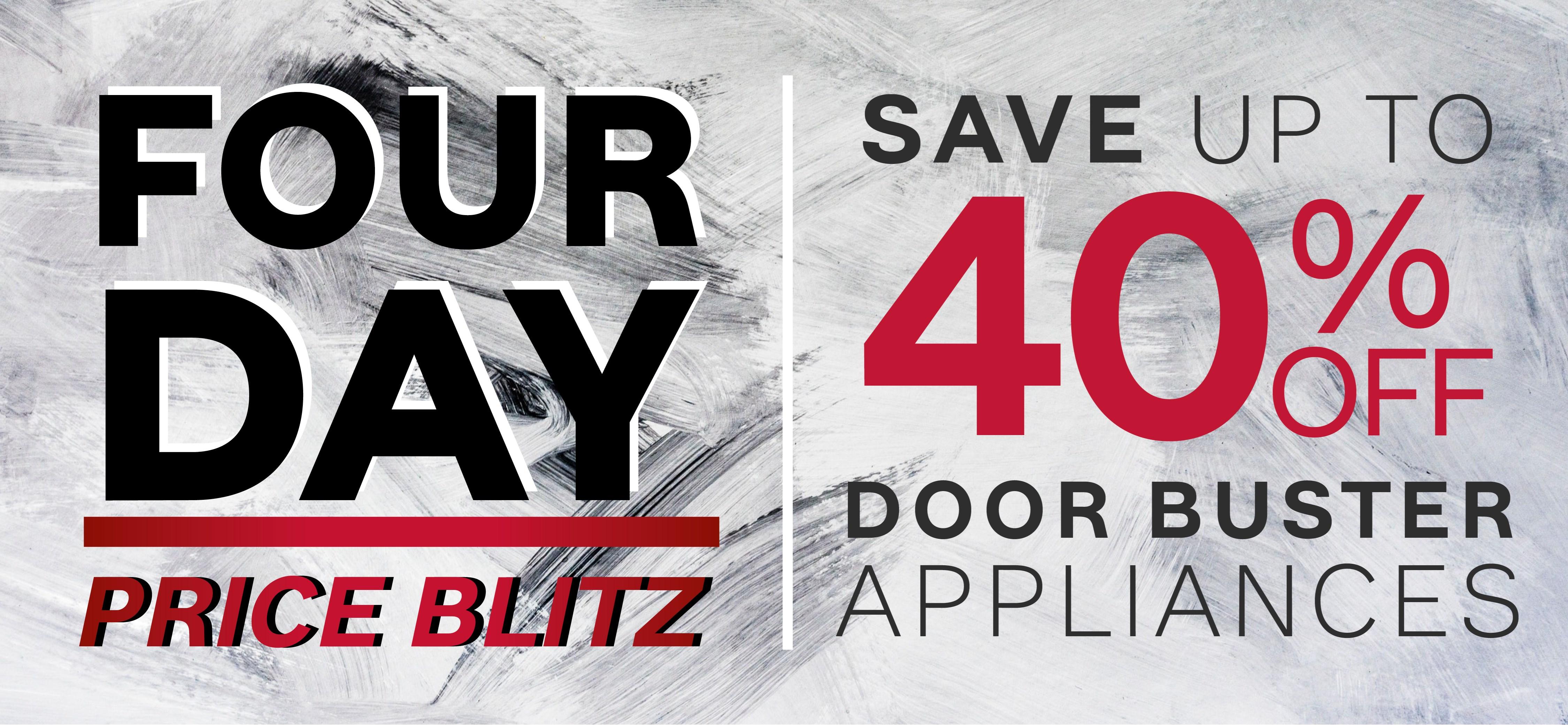 ... Furniture U0026 ApplianceMart 4 Day Price Blitz