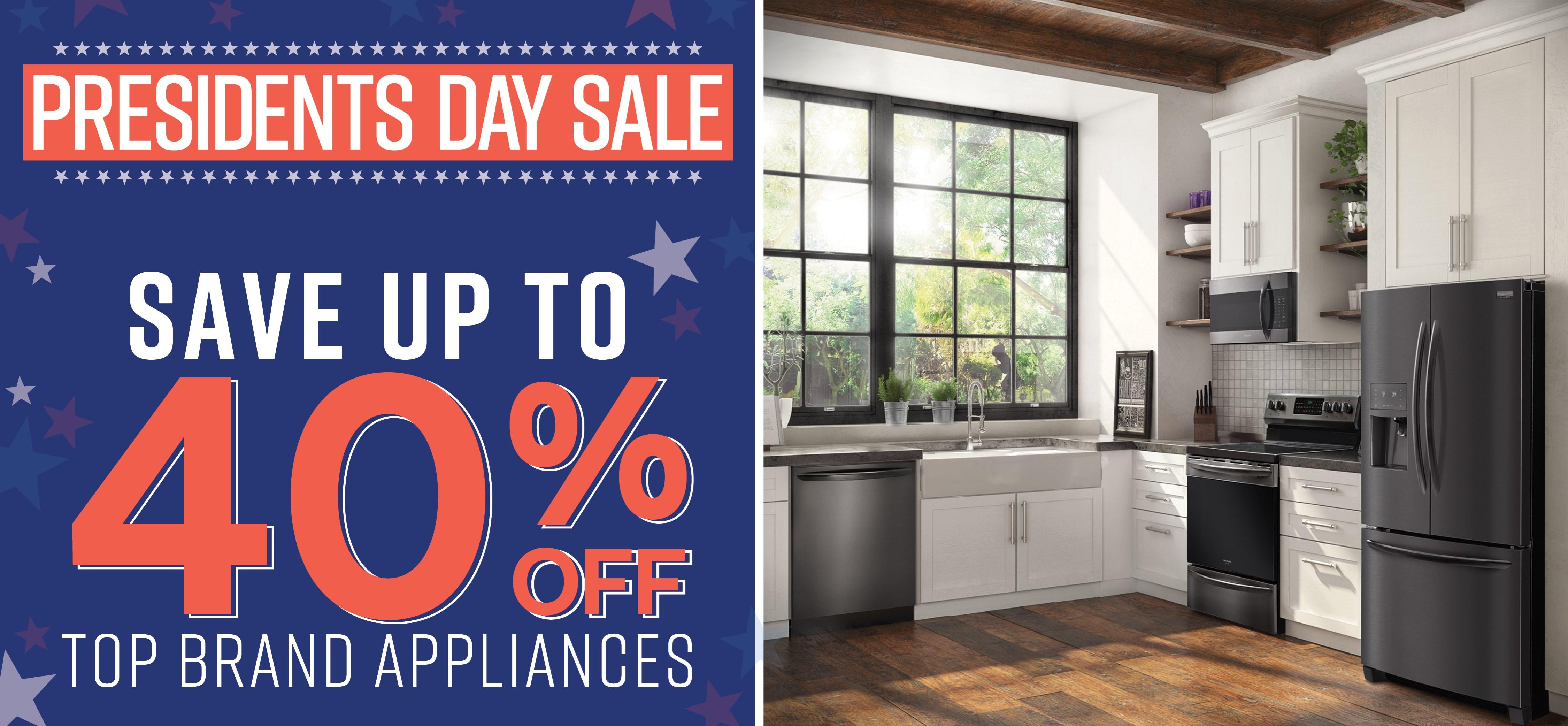 Furniture & ApplianceMart Presidents Weekend Sale