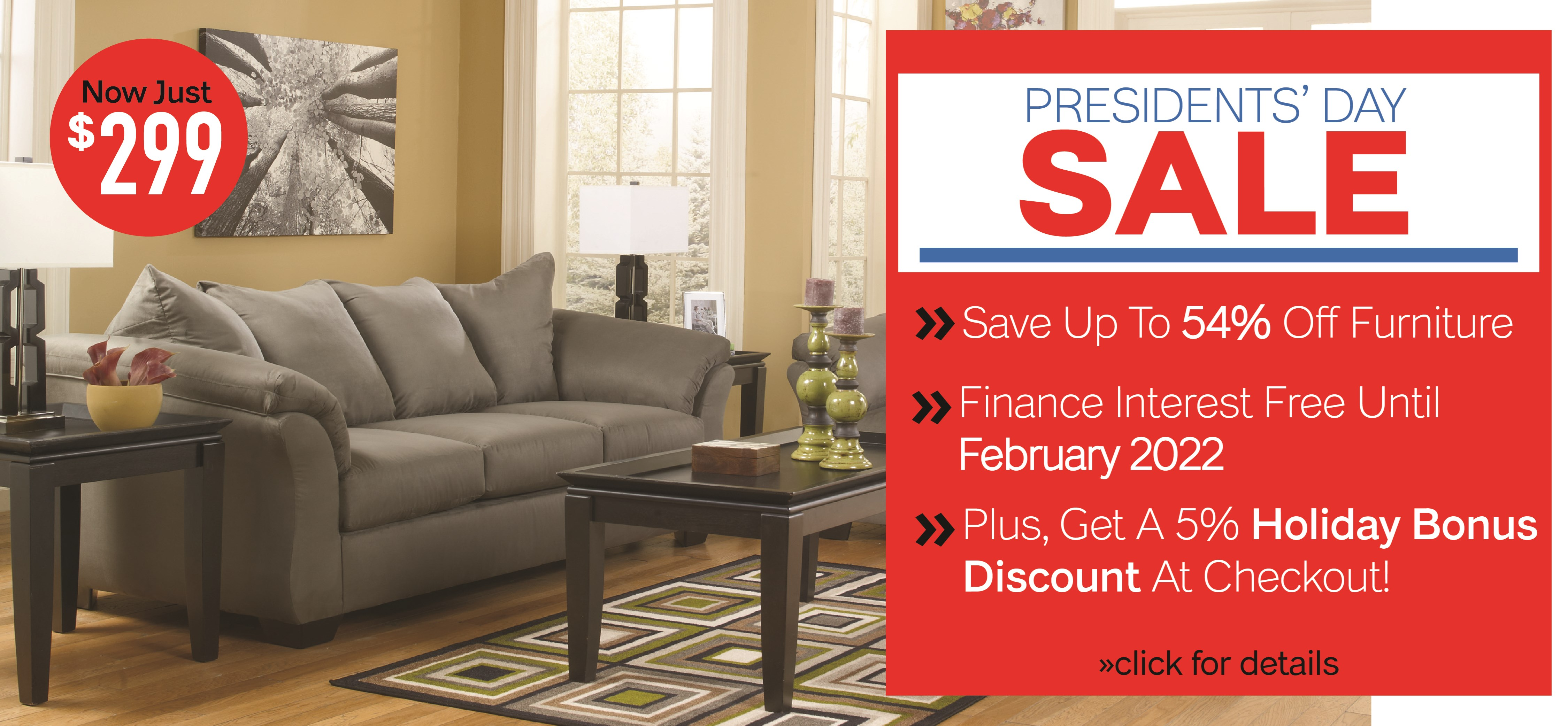 Furniture & ApplianceMart Presidents' Day Sale