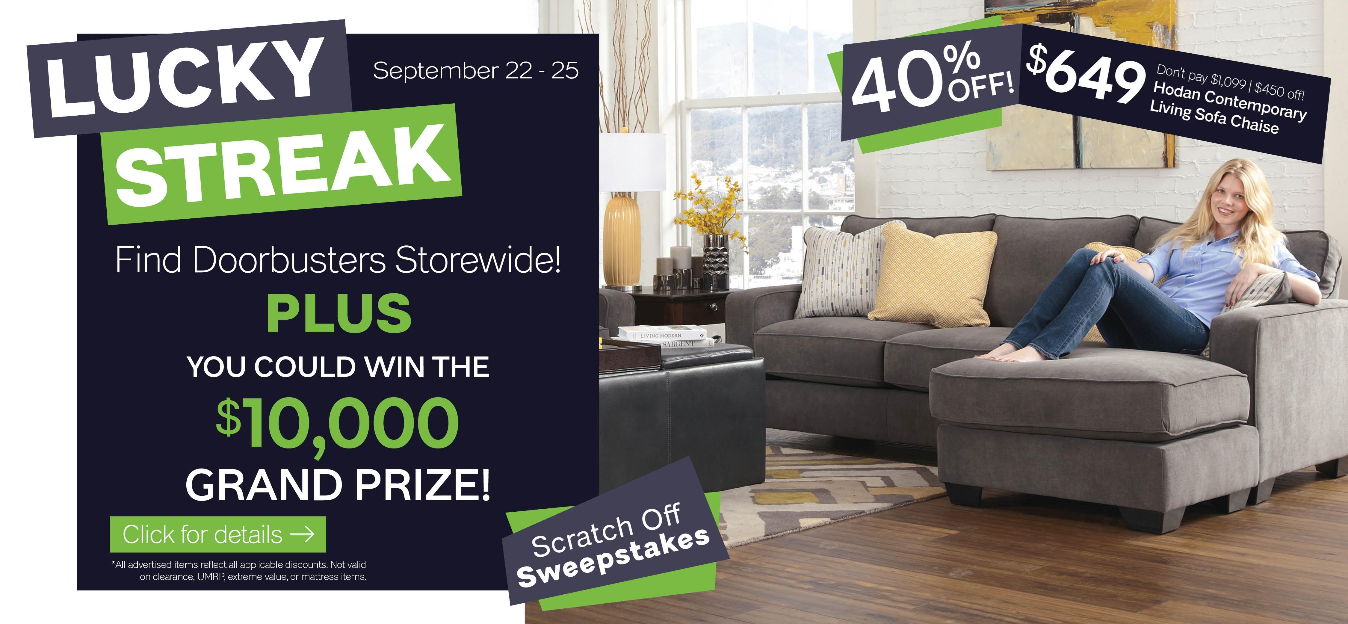 Furniture & ApplianceMart Lucky Streak