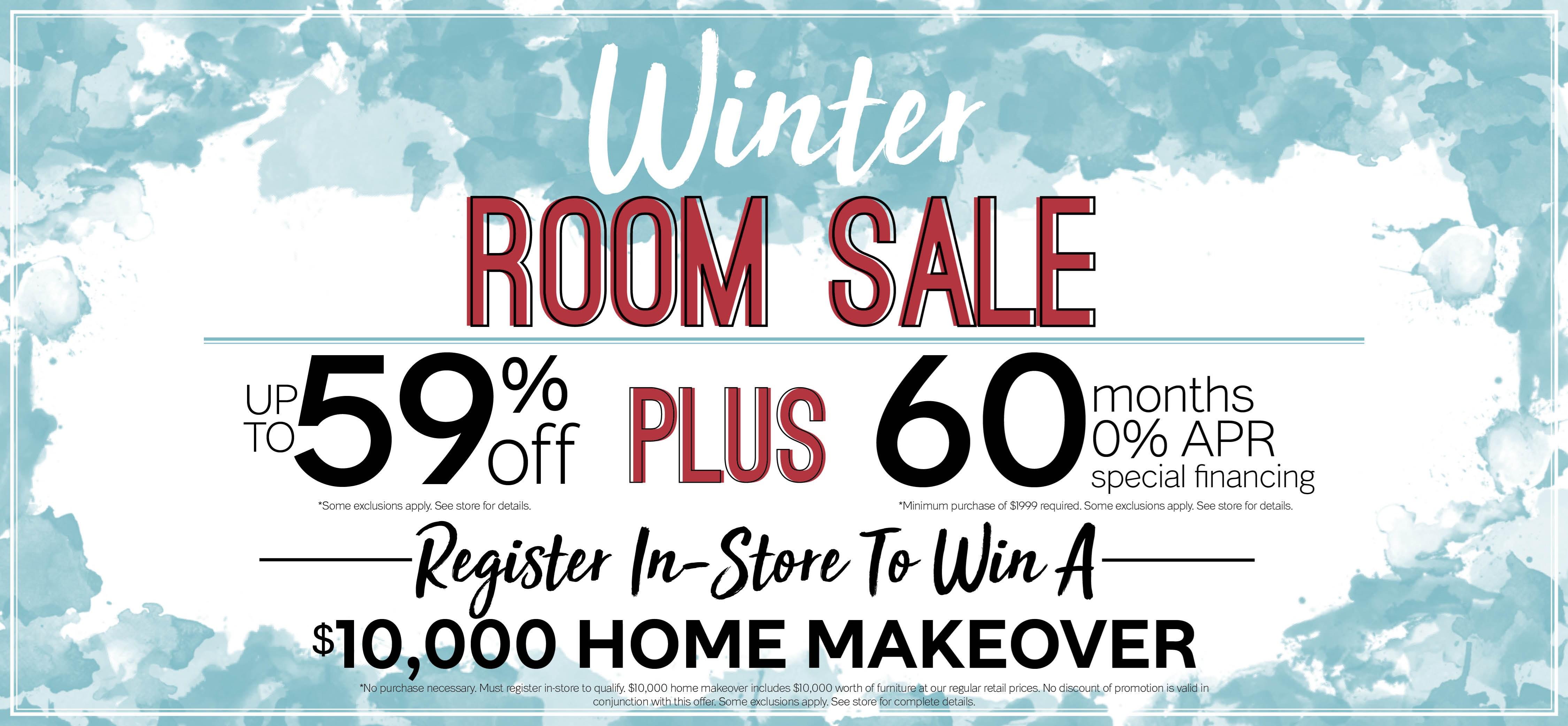 Furniture & ApplianceMart Winter Room Sale
