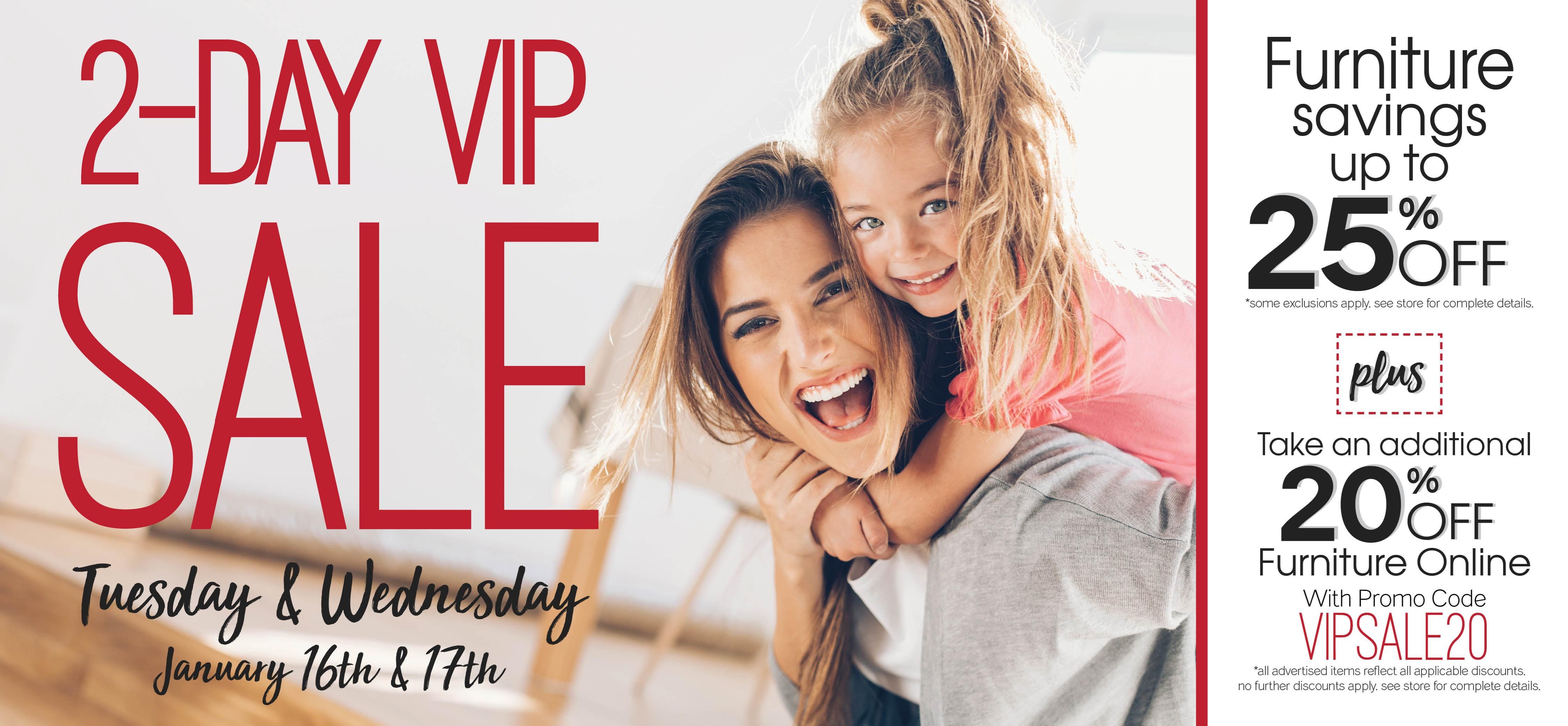 Furniture & ApplianceMart 2-Day VIP Sale