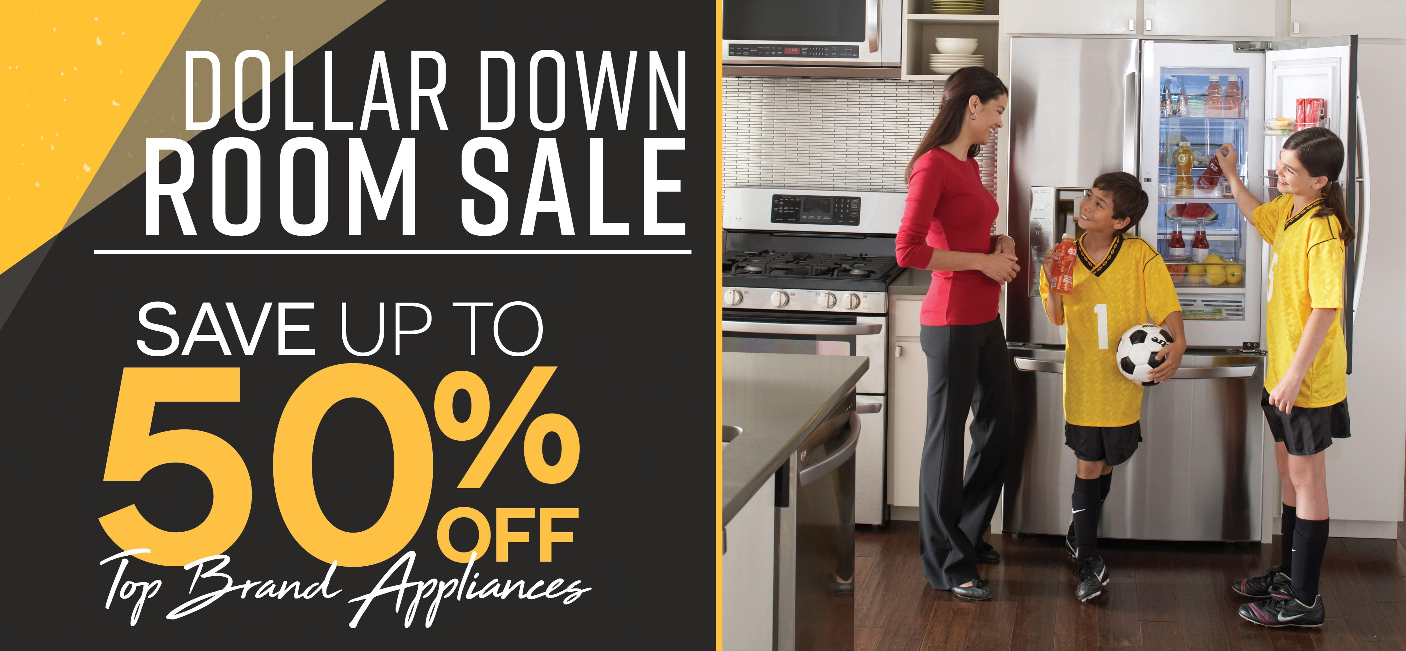 Furniture & ApplianceMart Dollar Down Sale