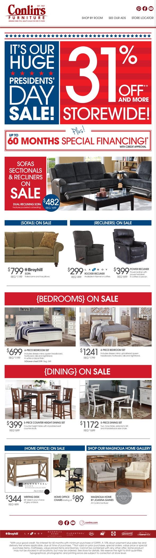 Furniture Deals Conlin 39 S Furniture Montana North Dakota South Dakota Minnesota And