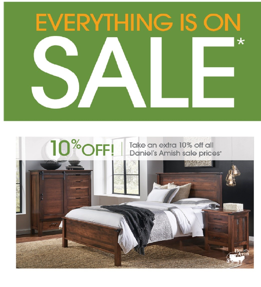 Save Some Green With Daniel's Amish 10% Off
