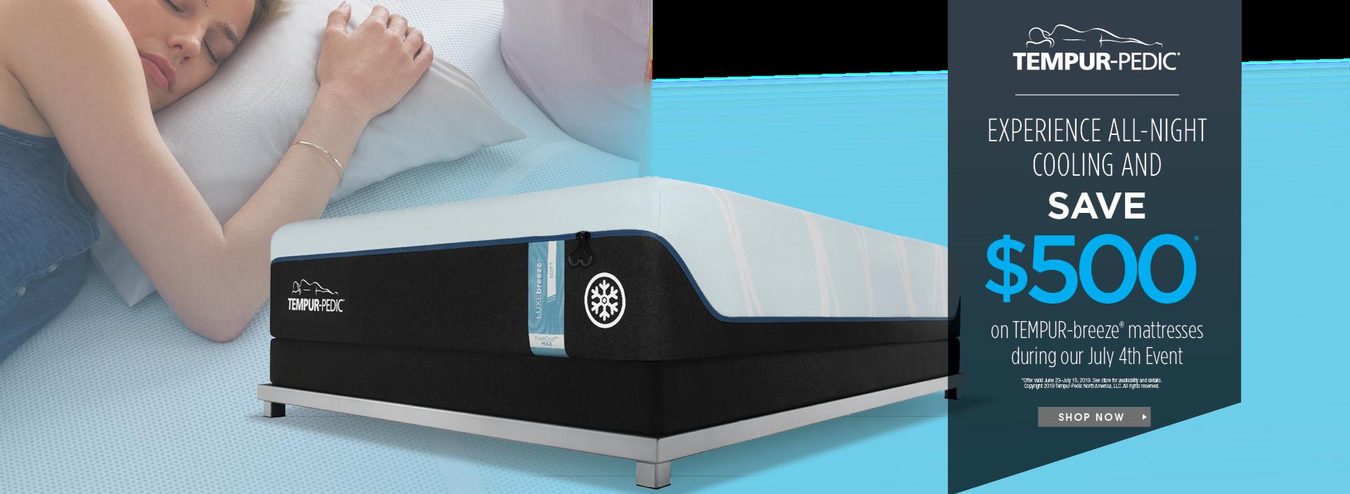 tempurpedic mattress save $500
