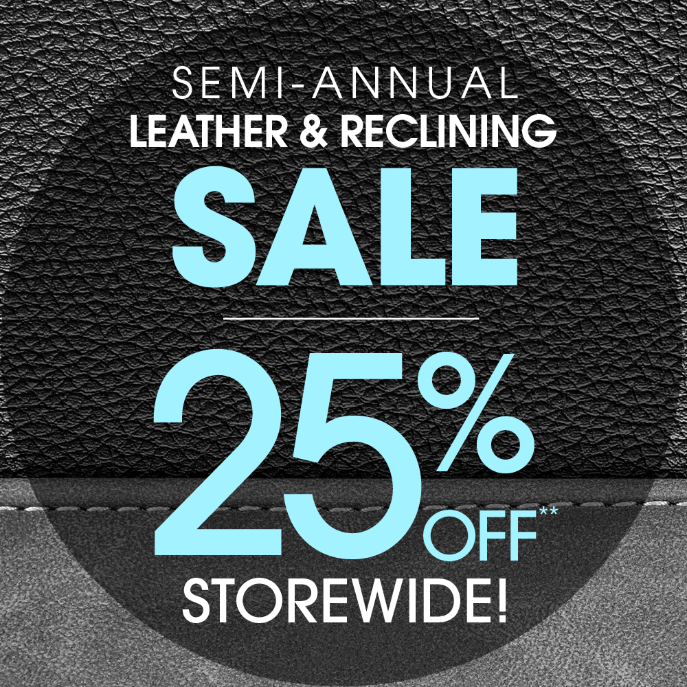 Semi-Annual Leather and Reclining Sale