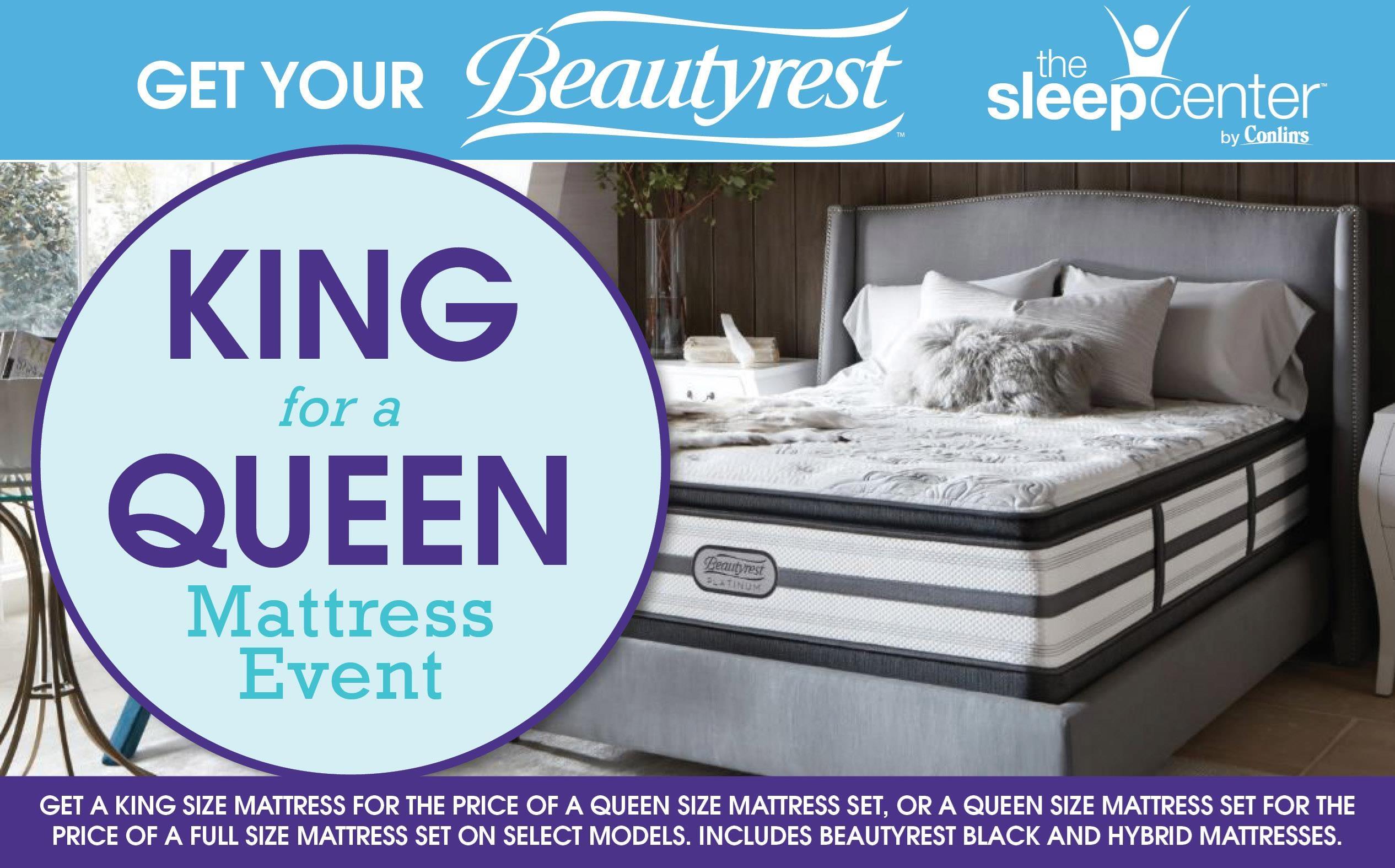 King For a Queen Mattress Event